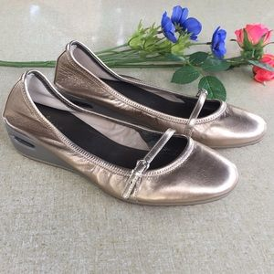 Cole Haan 8 Shimmer Wedge Comfort Shoes Nike Air